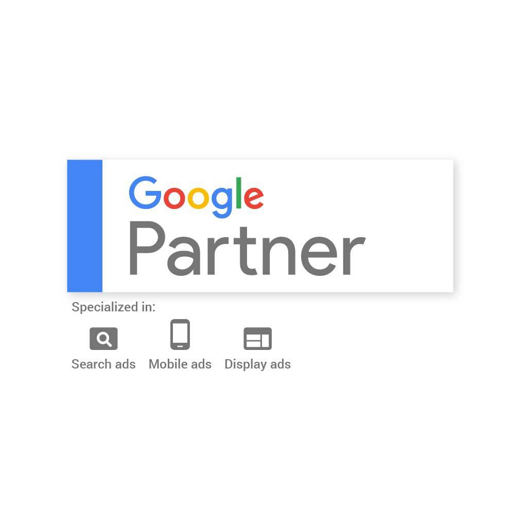 「Google公式パートナー」に認定